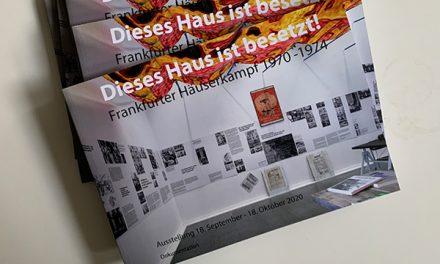 """Katalog der Ausstellung """"Dieses Haus ist besetzt!"""""""