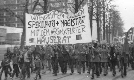Dieses Haus ist besetzt! Frankfurter Häuserkampf 1970-1974. Ausstellung